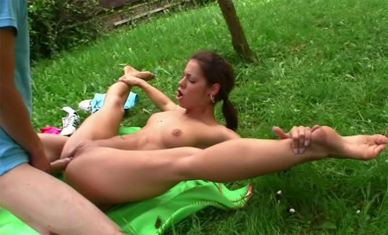 Contortion porn video