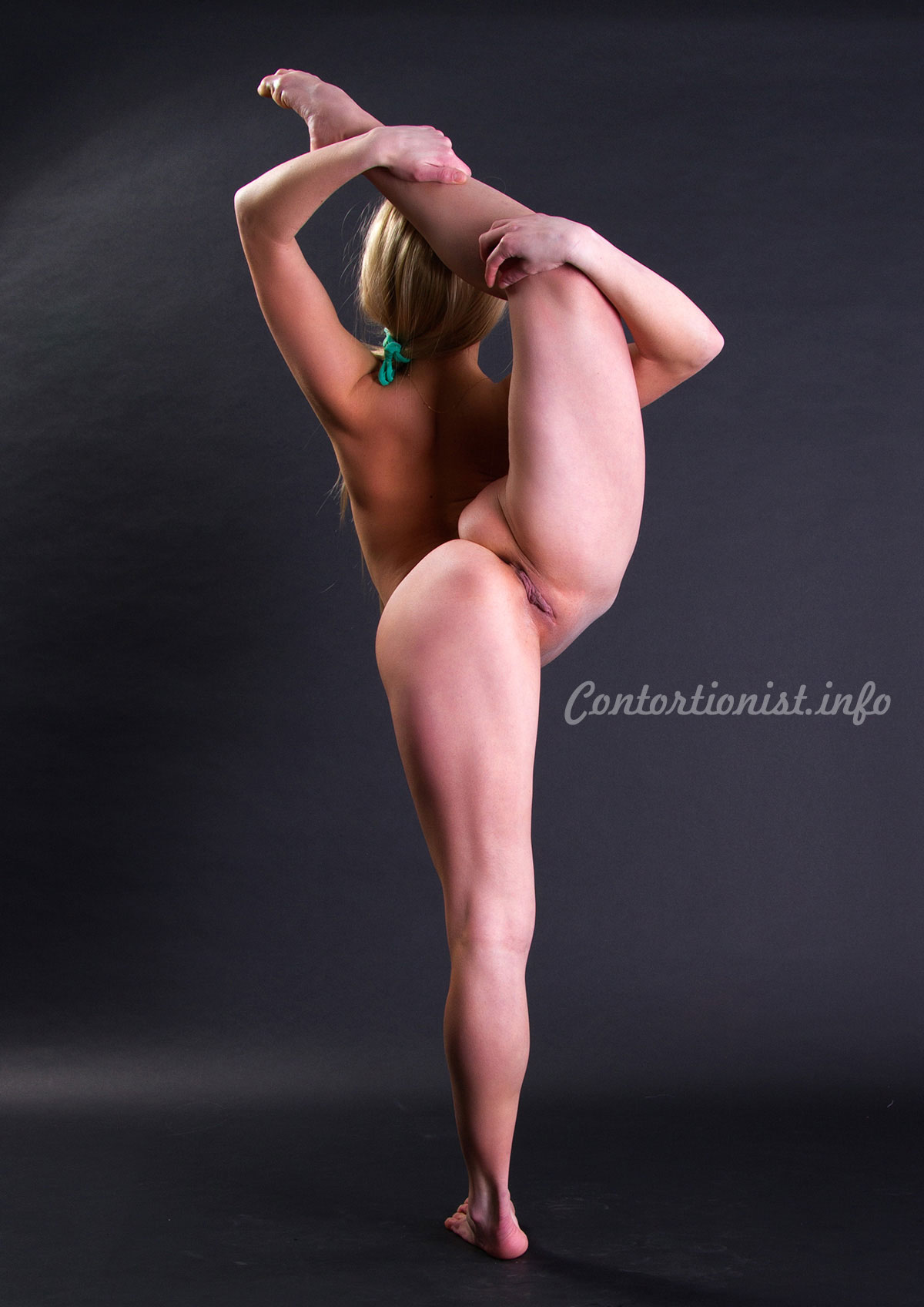 Girl contortionist flexible young