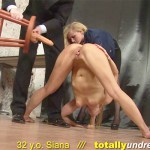 Contortionist sex and submission