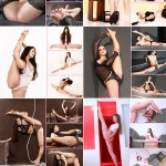 The best nude contortionists