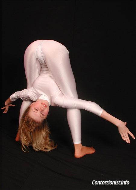 Sexy contortionist Julia